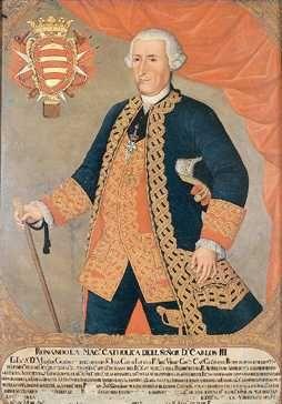 Virrey Manuel de Guirior, Joaquín Gutiérrez, Museo de Arte Colonial, Bogotá.