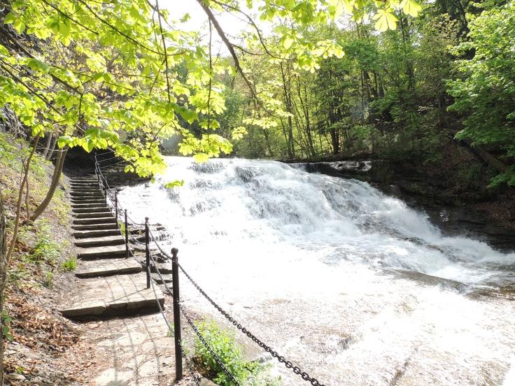 Cascadilla creek ithaca ny waterfalls pinterest