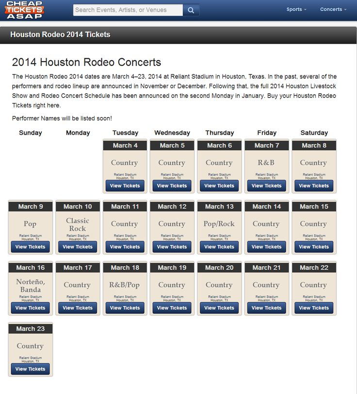 rodeo lineup, houston rodeo 2014, rodeo tickets --> http://www.cheapticketsasap.com/houston-rodeo-tickets
