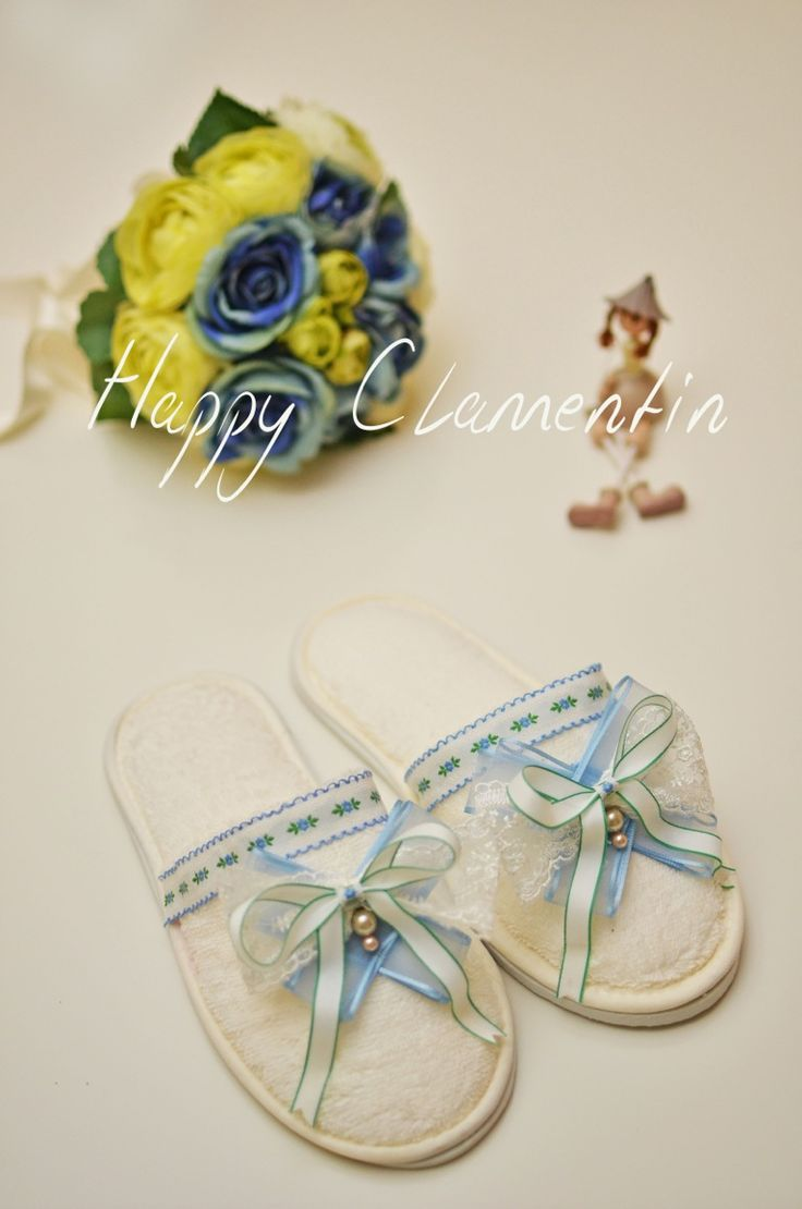 Handmade slippers