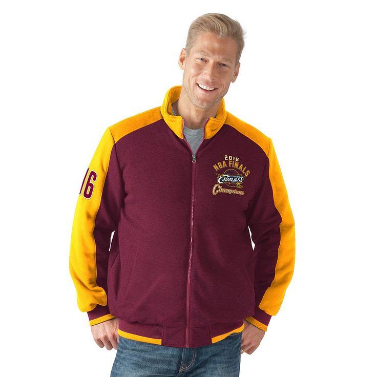 Men's Cleveland Cavaliers 2016 NBA Champions Fleece Jacket, Size: Medium, Red Other