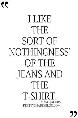 Sometimes simplicity is really the ultimate sophistication. #Jeans JeansAndTee #Simple #MarcJacobs #Style