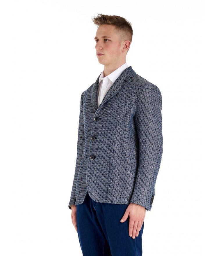Jacket Toppa Chela Indaco   www.barenavenezia.com