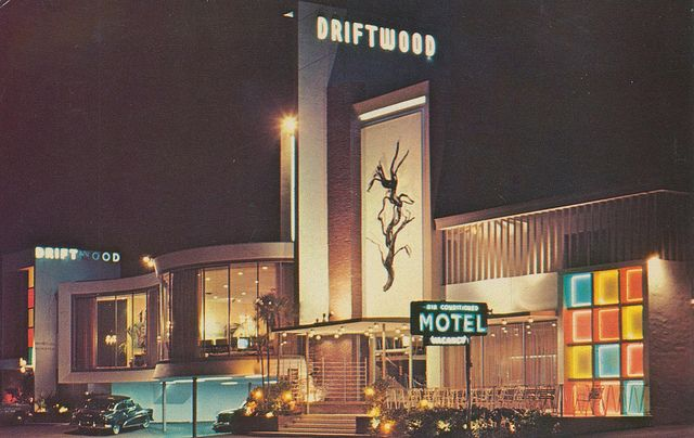 Driftwood Motel - Miami Beach, Florida by The Pie Shops, via Flickr