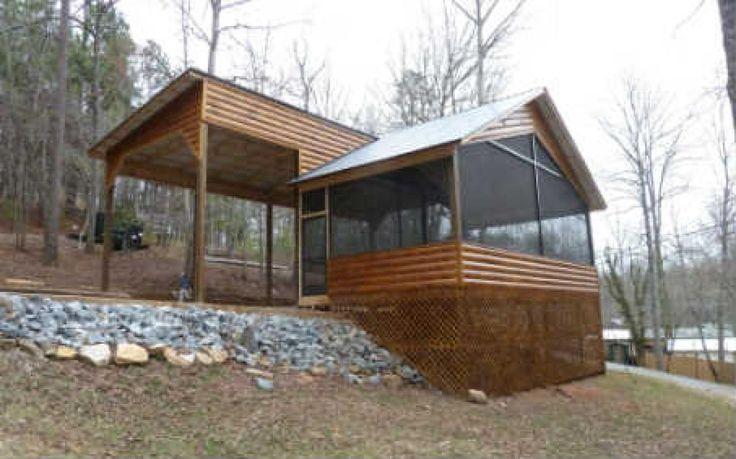 25 best ideas about rv garage on pinterest rv garage for Rv deck plans