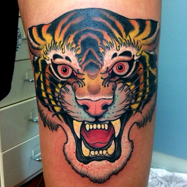 Tiger Ink tiger tattoo kysa Men's Tigers Ink Pinterest