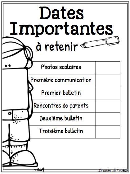 Voici quatre petits documents qui pourraient être utiles lors de vos rencontres de parents la semaine prochaine. En un coup ...
