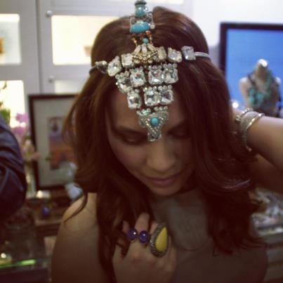SW Beautiful Couture Creation Necklace/Headpiece