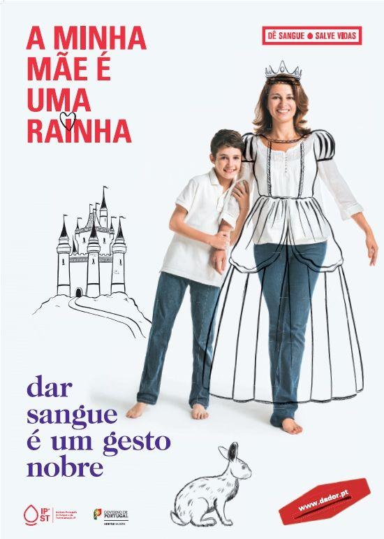 """Campanha de Promoção da Dádiva de Sangue (2014) """"A minha mãe é mágica"""""""