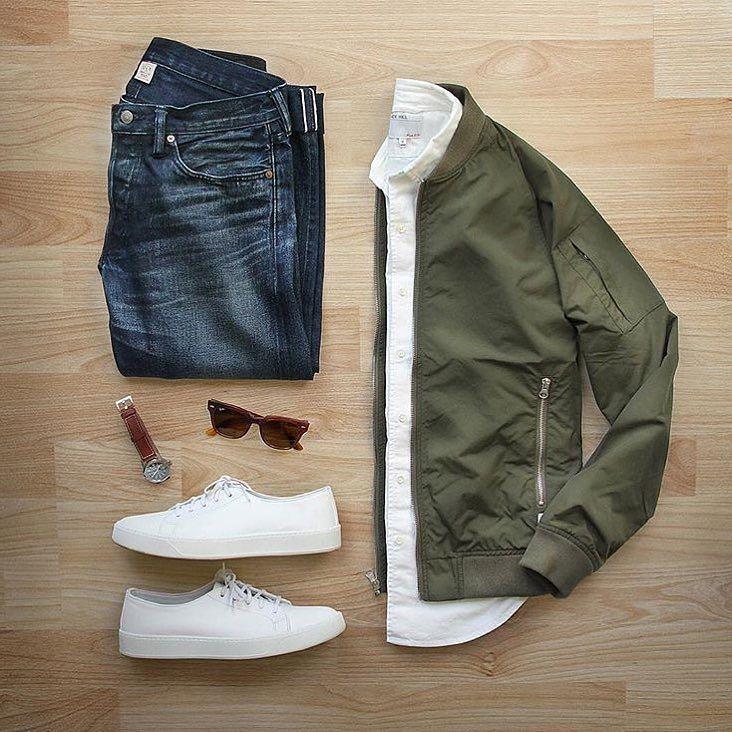 Urban StreetStyle Grid, Men's Spring Summer Fashion.