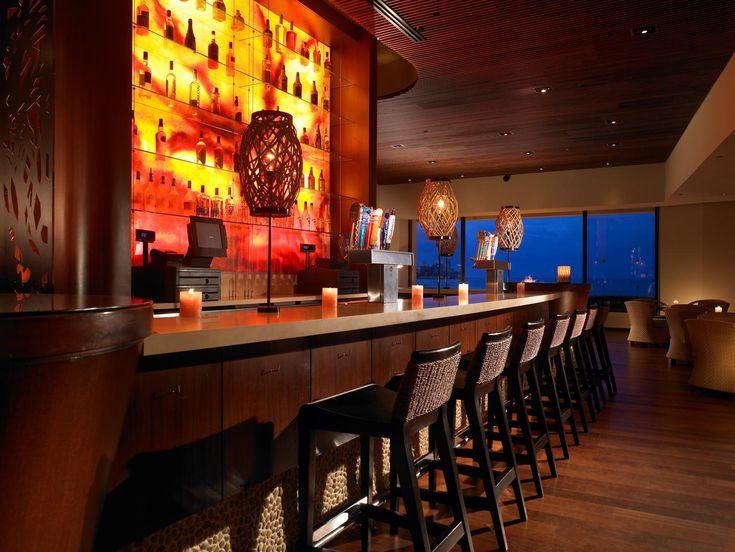 Rum Fire bar at the Sheraton Waikiki.. Best rum drinks ever!