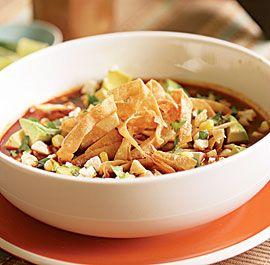 Tortilla Soup: Soups, Tasty Recipe, Chicken Tacos, Tortilla Soup, Soup ...