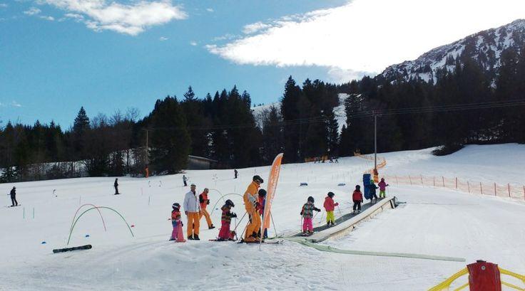 Kinderfüße wachsen - Skischuhe nicht - matschbar