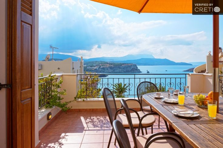 Traditional villa with outstanding sea and mountain view, Almyrida | Cretico
