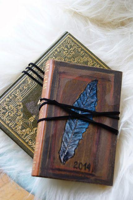 Hobbyvimsa: DIY bruk gamle bøker på nytt,gjenbruk.Old books
