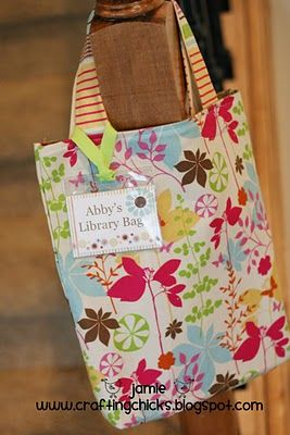 Library Bags & Tags for Summer Reading