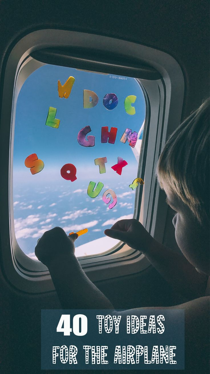 40 Toy Ideas for the Airplane! Barefoot Blonde Amber Fillerup Clark