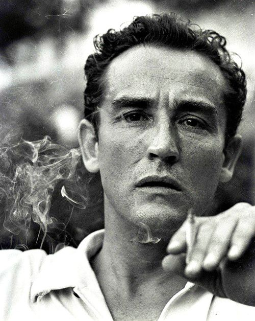 Vittorio Gassman (1922-2000) - known as Il Mattatore, was an Italian theatre and film actor, as well as director. Photographed by Giuseppe Palmas