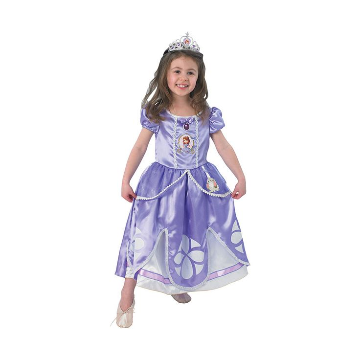 Sofia The First Deluxe Costume Size 3-5 | Toys R Us Australia