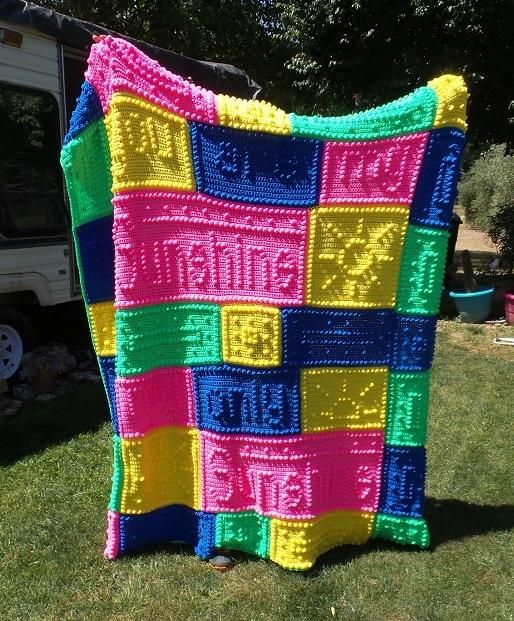 Free Crochet Pattern For You Are My Sunshine Blanket : You Are My Sunshine by Kristi Crochet-1: All About ...