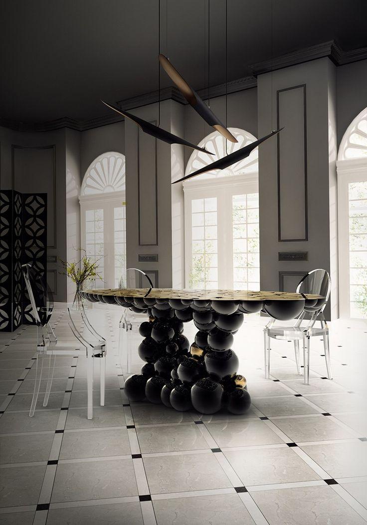 Planen Sie Ein Majestätisches Osterfest In Einem Luxuriöses Esszimmer