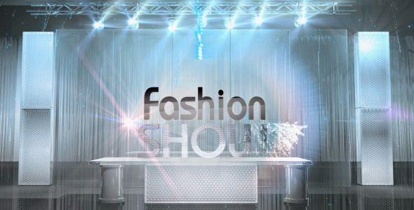 Fashion Show Broadcast TV Pack
