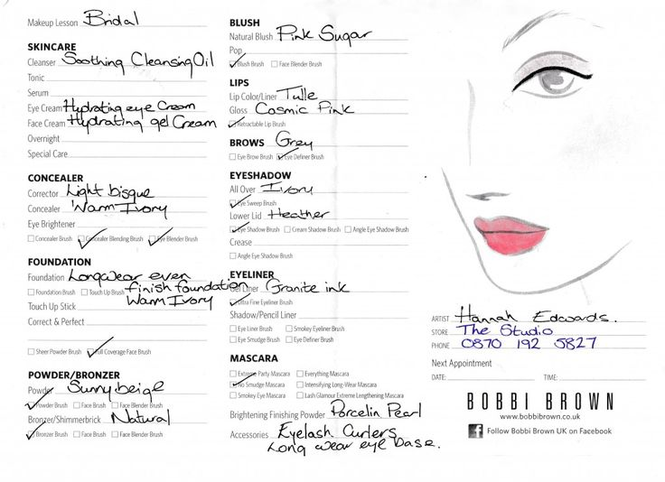 DIY Bridal Make-Up lesson at a Bobbi Brown - wrapped up in weddings
