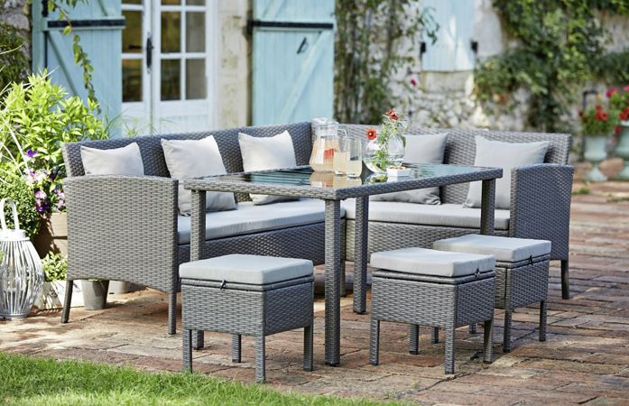 Give Your Patio A New Look With Rattan Patio Furniture In 2020 Rattan Patio Furniture Garden Furniture Rattan Garden Furniture