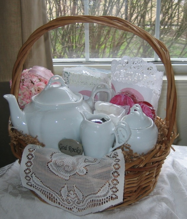 34 best gift baskets images on pinterest gift ideas basket and gift basket tea visit taylordnotions negle Gallery