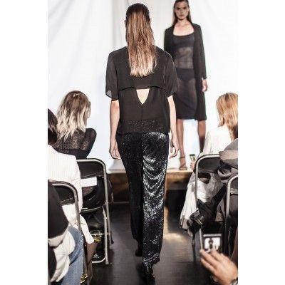 Stylein - Duplicate Top Black - Kotyr.com