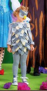 Disfraz de búho Burda 1/2013