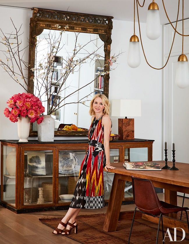 Mix and Chic: Home tour- Hollywood celebrities Naomi Watts and Liev Schreiber's gorgeous New York City apartment!