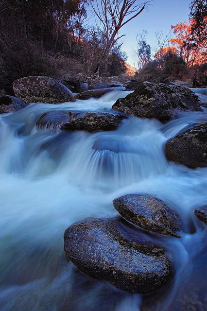 Thredbo River - New South Wales by TimboDon, via Flickr