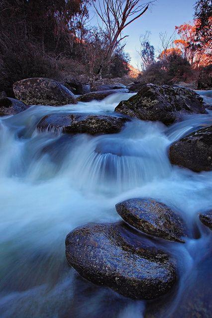Thredbo River - New South Wales by TimboDon, via Flickr