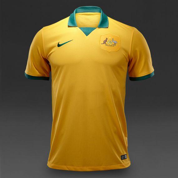 Nike Australia Home Jersey