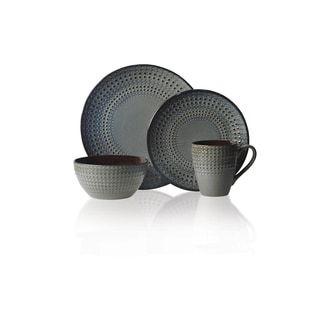 Mikasa Gourmet Basics 16-piece Stoneware Dinnerware Set | Overstock.com Shopping - The Best Deals on Casual Dinnerware
