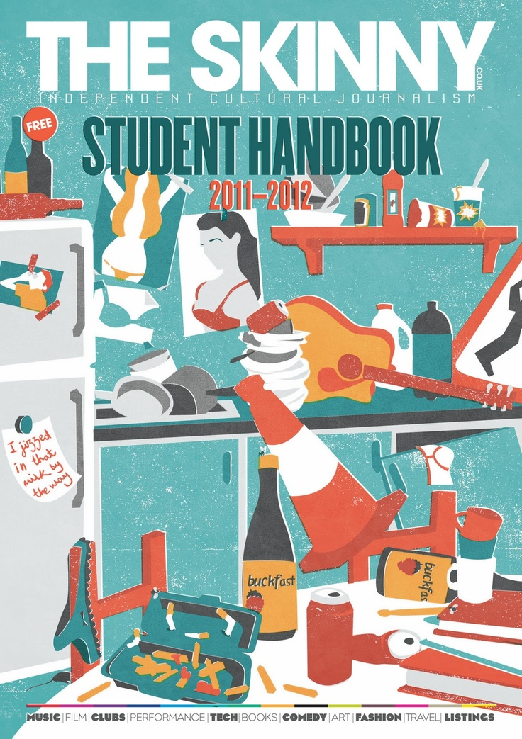 The Skinny Student Handbook Has Been Out For A While So Just Posting Up Some Shots This Annual Publication Gives Straight Ta