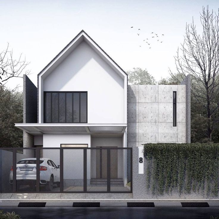 Architecture Visual On Instagram Deyamie House Visualization By Mrchlaprjcts Archvisuals Small House Architecture Facade House Architecture House