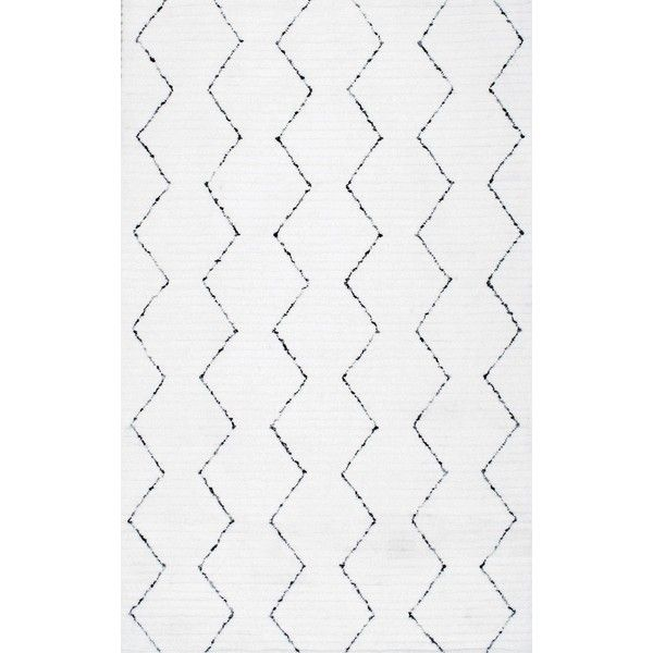 ApexMoroccan High-low Texture Striped Rug ($264) ❤ liked on Polyvore featuring home, rugs, modern contemporary rugs, polyester area rugs, contemporary rugs, stripe rugs and textured area rugs