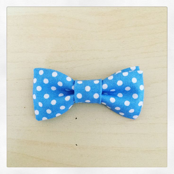 A personal favorite from my Etsy shop https://www.etsy.com/uk/listing/267843866/baby-boy-blue-polka-dot-pin-on-bow-tie
