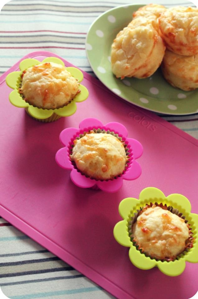 Poof! Cheddar Cheese Muffin