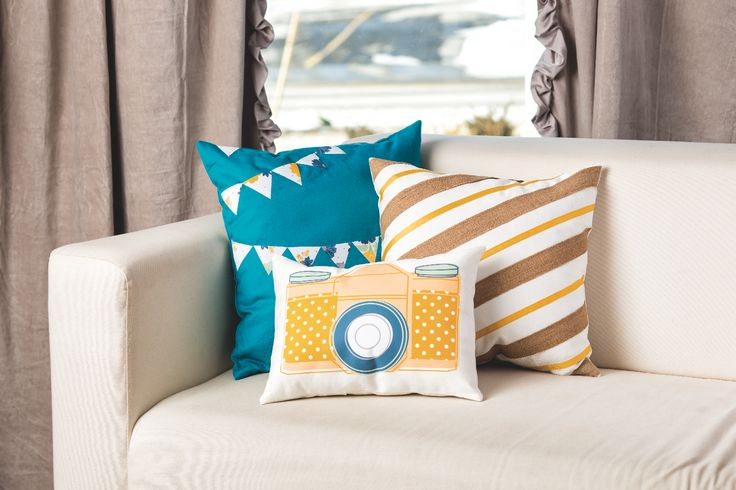 Use MDS to create fun iron on transfers to create custom pillows for your home!