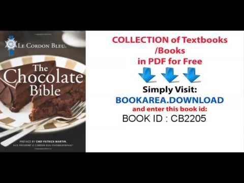 Le Cordon Bleu    The Chocolate Bible - http://LIFEWAYSVILLAGE.COM/lottery-lotto/le-cordon-bleu-the-chocolate-bible/