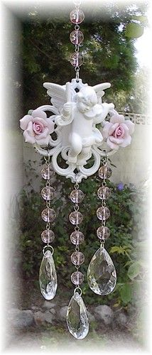 Another- Gorgeous windchime, suncatcher with crystal beads ! Absolutely beautiful!! I'm in love!