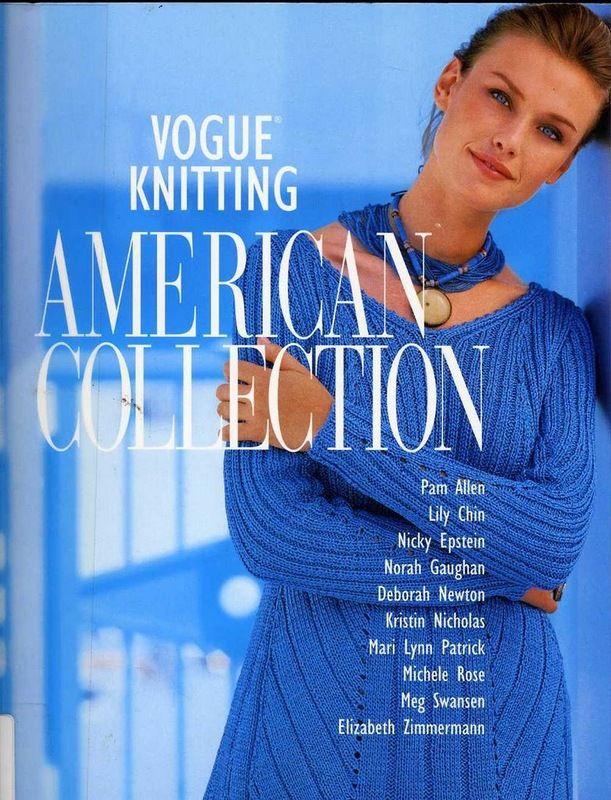 Альбом«Vogue Knitting. American Collection». Обсуждение на LiveInternet - Российский Сервис Онлайн-Дневников