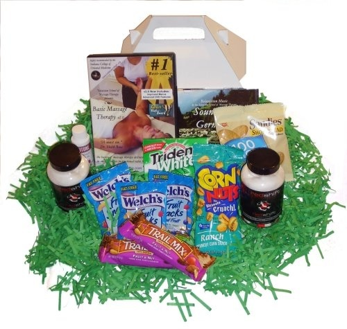 Healthy Snacks Gift Box special Massage Products:  Holiday Adds