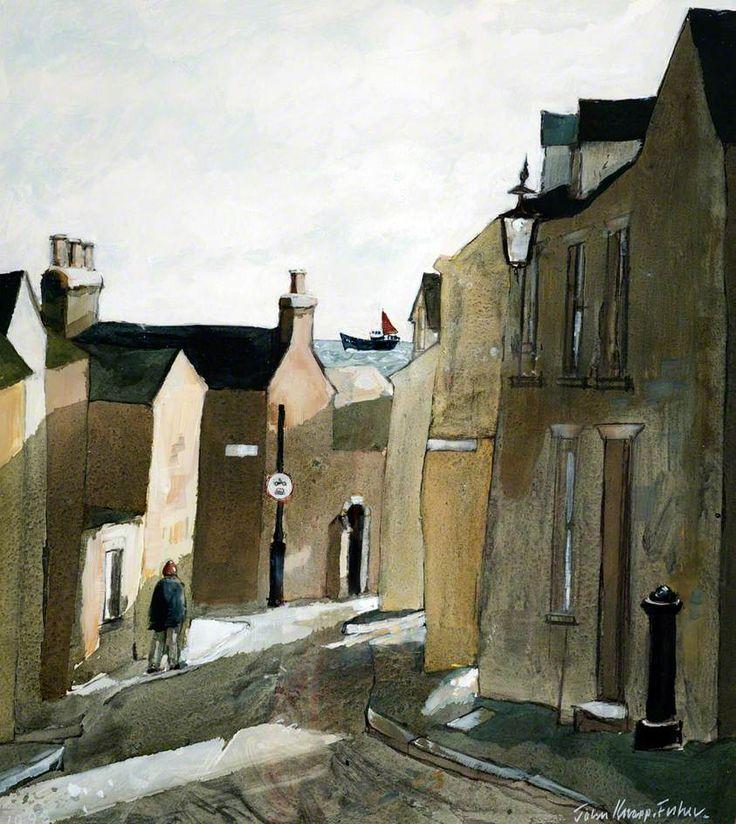 Cresswell Street, Tenby - John Knapp-Fisher