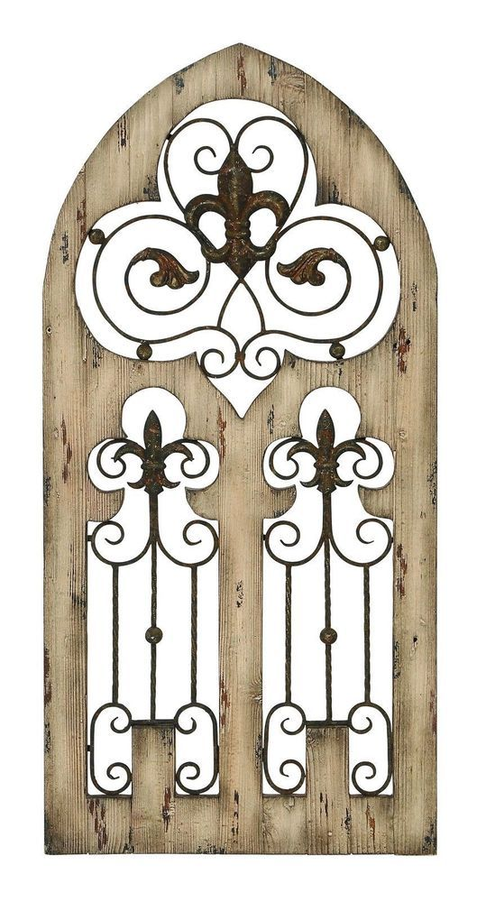 Fleur De Lis Metal Wall Decor 105 best furniture and wall decor images on pinterest | home
