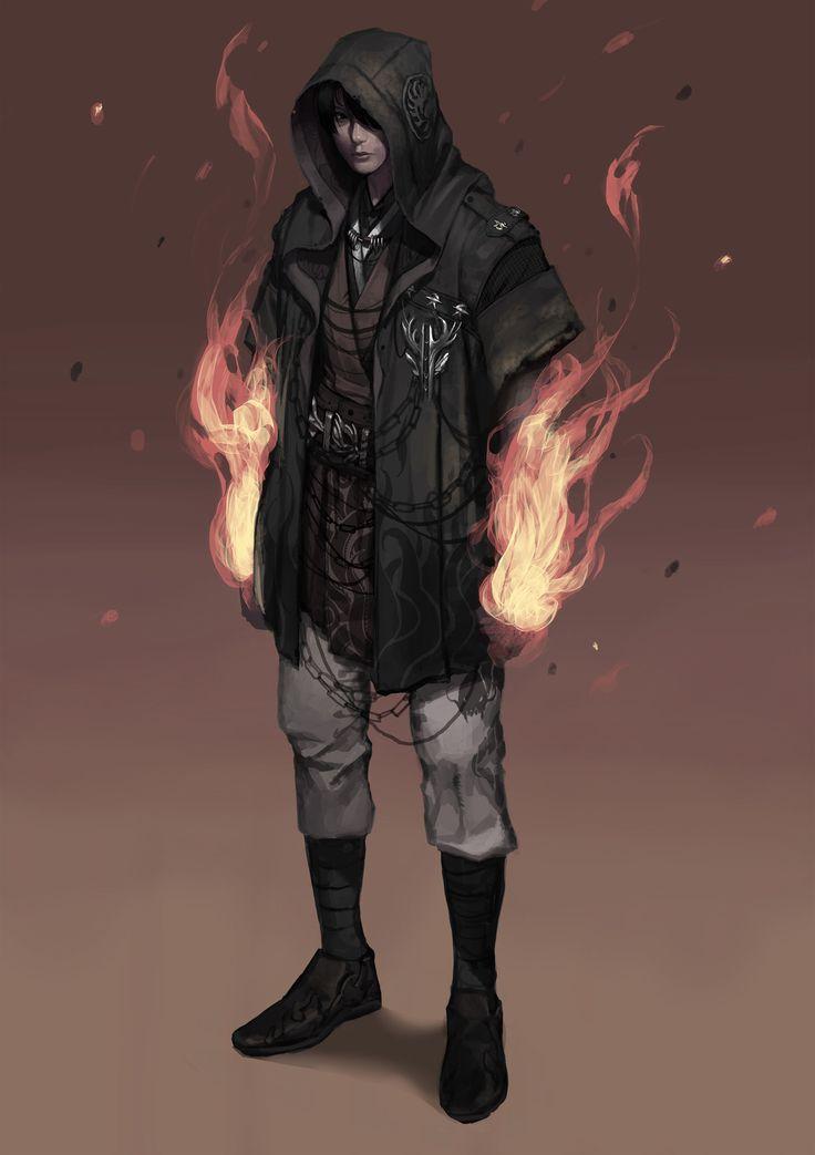 Lorde dos Corvos (jovem, aprendiz de Vetan/ e seus companheiros