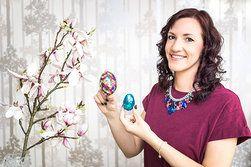 Ilustrační foto ke článku Velikonoční vajíčka trochu jinak: Vsaďte na flitry, laky na nehty i třpytky!